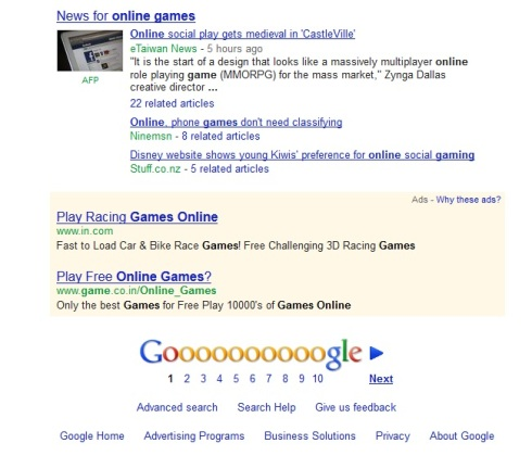 Google Officially Rolls Out Ads At The Bottom Of Search Results